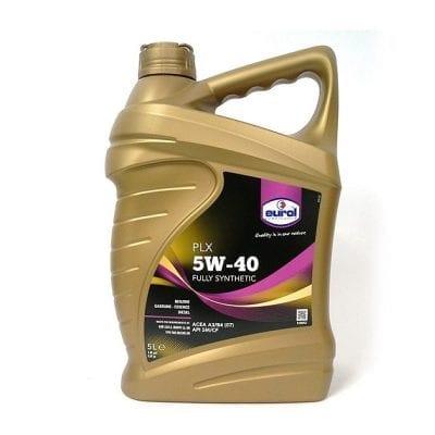 שמן Eurol PLX 5W40 5L