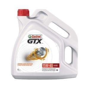שמן Castrol GTX 15W40 A3/B3 4L