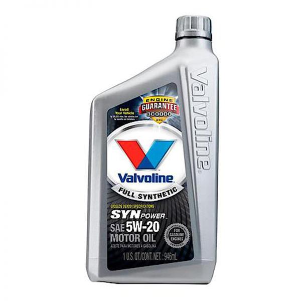 שמן Valvoline SynPower 5W20 0.946L