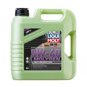 שמן Liqui Moly Molygen 5W40 4L