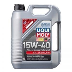 שמן Liqui Moly MOS2 Leichtlauf 15W40 5L