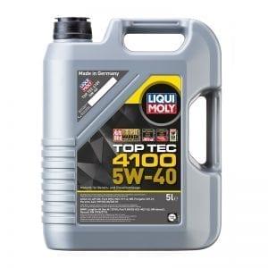 שמן Liqui Moly TopTec 4100 5W40 5L