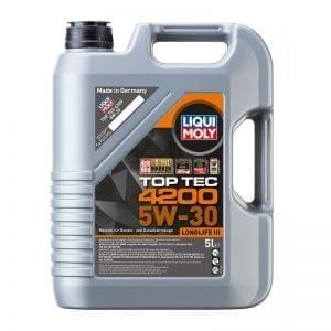 שמן Liqui Moly TopTec 4200 5W30 5L