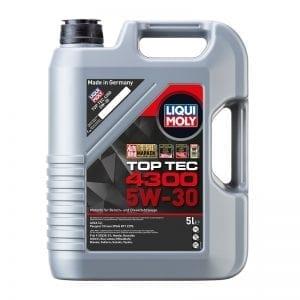 שמן Liqui Moly TopTec 4300 5W30 5L