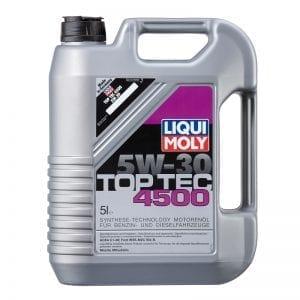 שמן Liqui Moly TopTec 4500 5W30 5L