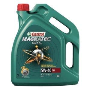 שמן Castrol Magnatec 5W40 DPF 5L