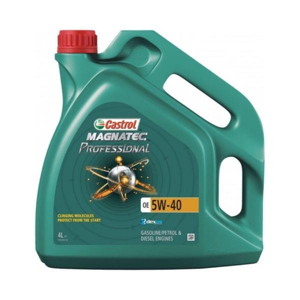 שמן Castrol Magnatec 5W40 OE 4L