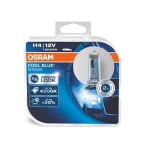 זוג נורות OSRAM Cool Blue Intense H4