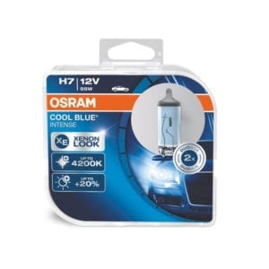 זוג נורות OSRAM Cool Blue Intense H7