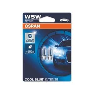 זוג נורות OSRAM Cool Blue W5W