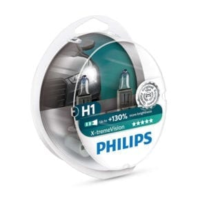 זוג נורות PHILIPS X-tremeVision H1