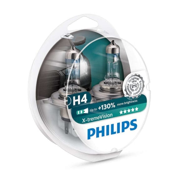 זוג נורות PHILIPS X-tremeVision H4