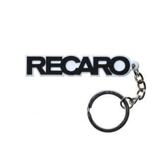 מחזיק מפתחות PVC בעיצוב Recaro
