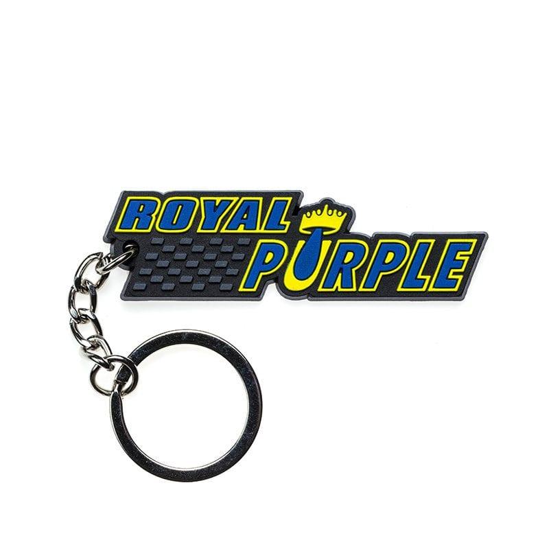 מחזיק מפתחות PVC בעיצוב Royal Purple