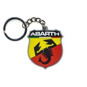 מחזיק מפתחות PVC בעיצוב ABARTH