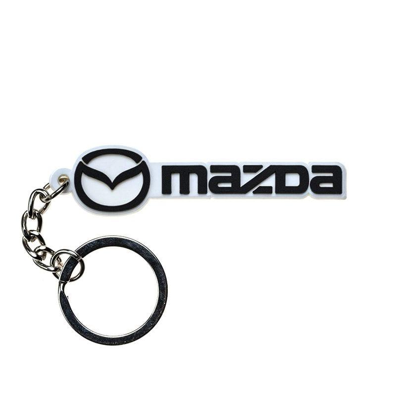 מחזיק מפתחות PVC בעיצוב Mazda