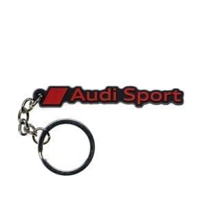 מחזיק מפתחות PVC בעיצוב Audi Sport