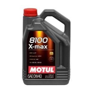 שמן Motul 8100 X-max 0W40 5L