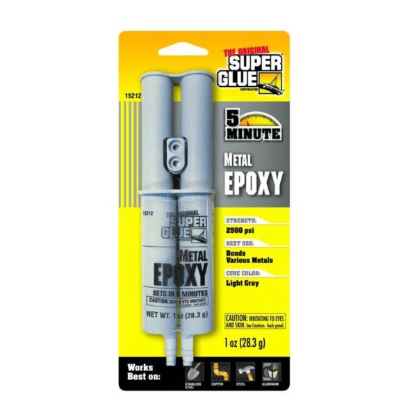 דבק אפוקסי מתכת Super Glue