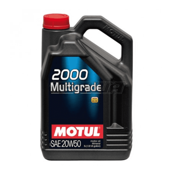 שמן Motul 2000 Multigrade 20W50 5L