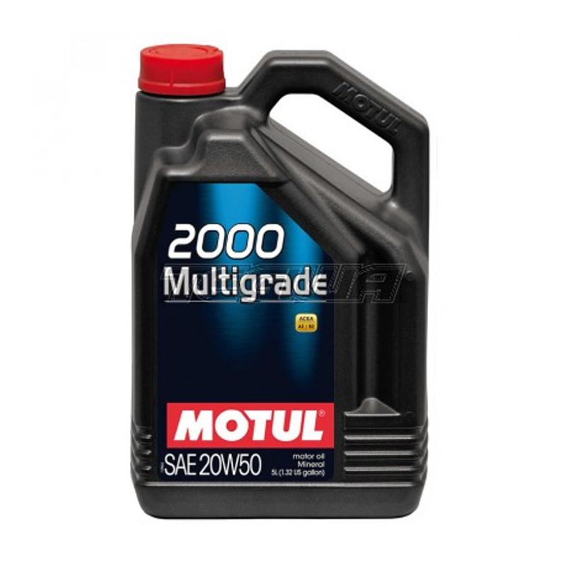 שמן Motul 2000 Multigrade 20W50 5L