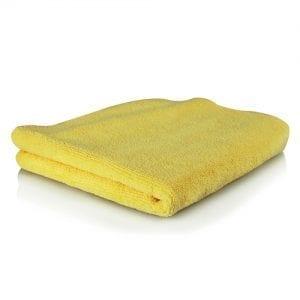 מטלית מיקרופייבר איכותית צהובה Chemical Guys Ultra Fine