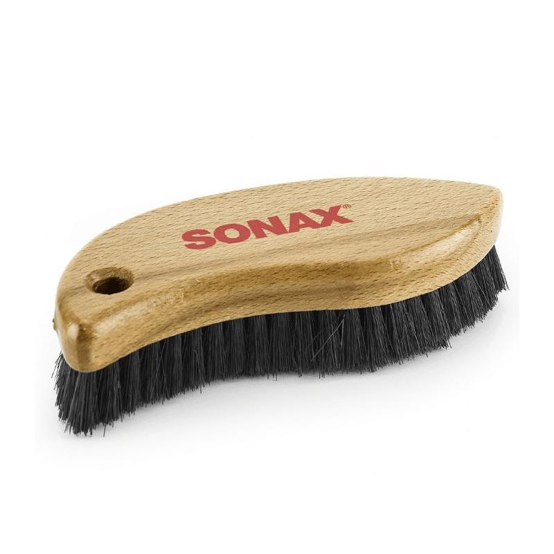 מברשת יד לריפודים ועור SONAX