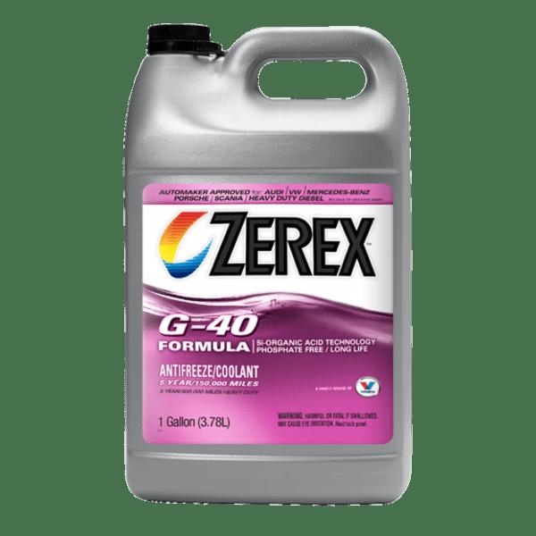 נוזל קירור אדום Valvoline Zerex G-40