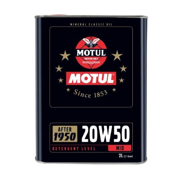 שמן Motul Mineral Classic 20W50 2L