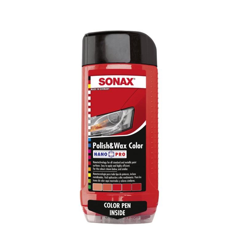 פוליש-ווקס אדום SONAX Nano-Pro