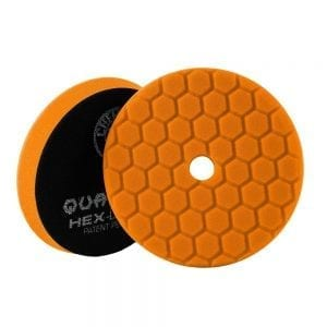 פד ספוג למכונה Chemical Guys Hex-Logic Quantum Orange 6inch