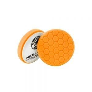 פד ספוג למכונה Chemical Guys Hex-Logic Orange 4inch