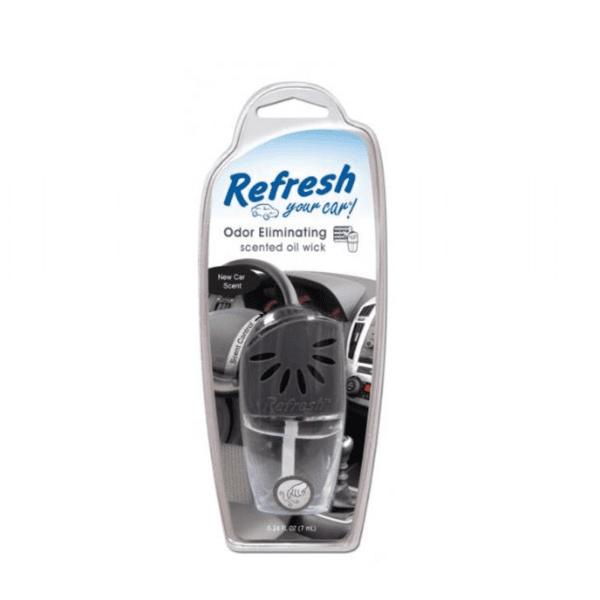 מפיץ ריח נוזלי לפתח אוורור בניחוח רכב חדש Refresh
