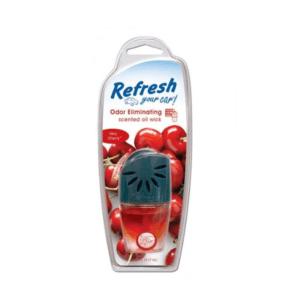 מפיץ ריח נוזלי לפתח אוורור בניחוח דובדבן Refresh
