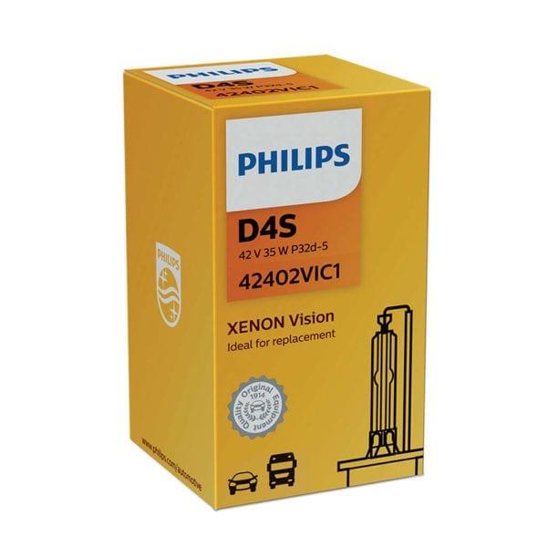 נורת גז PHILIPS XENON Vision D4S