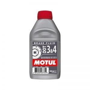 נוזל (שמן) בלמים Motul DOT3&4 1L