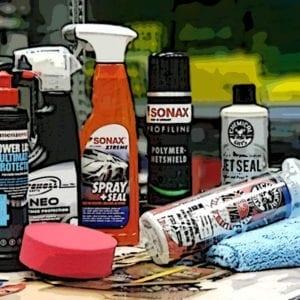 מוצרי אוטם צבע, גלייזים וחומרי הגנה נוספים