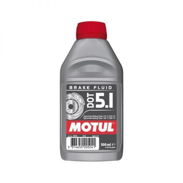 נוזל (שמן) בלמים Motul DOT5.1 1L
