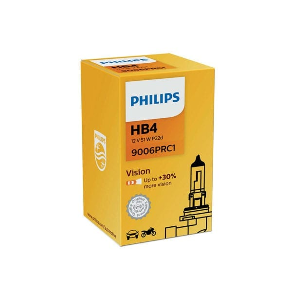 נורה PHILIPS Vision HB4