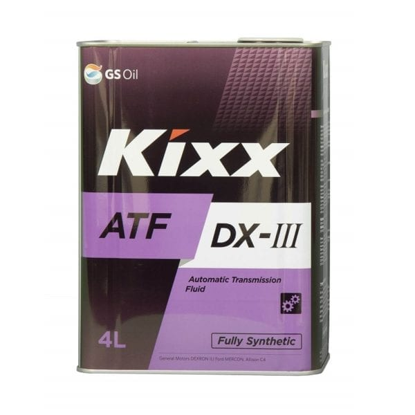 שמן גיר GS Oil Kixx ATF DX-III 4L