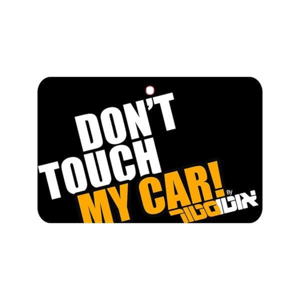 עץ ריח DON'T TOUCH MY CAR Black