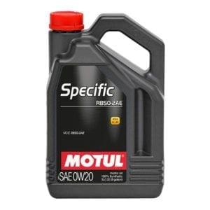 שמן Motul Specific RBS0-2AE 0W20 5L