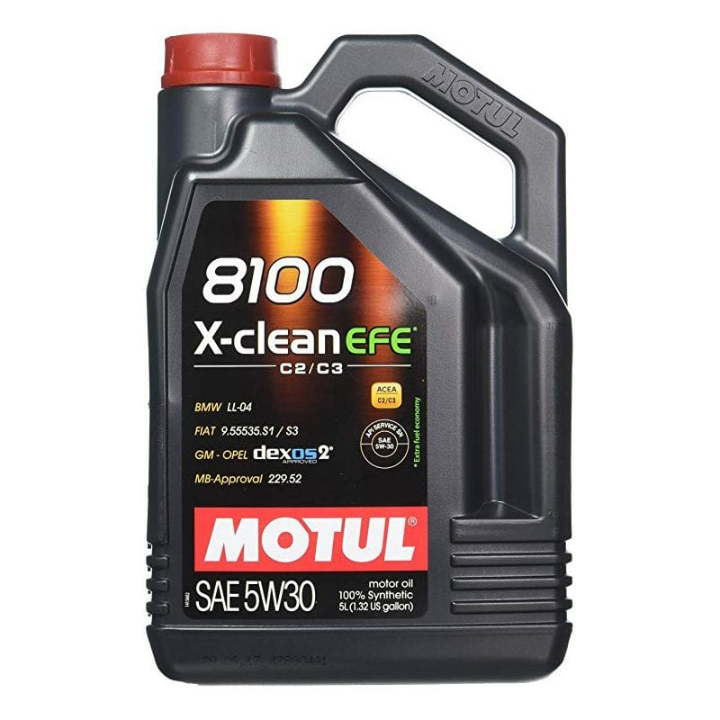 שמן Motul 8100 X-clean EFE 5W30 5L