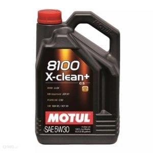 שמן Motul 8100 X-clean+ 5W30 5L