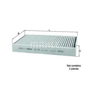 מסנן (פילטר) קבינה פחמי MAHLE LAK 1156/S