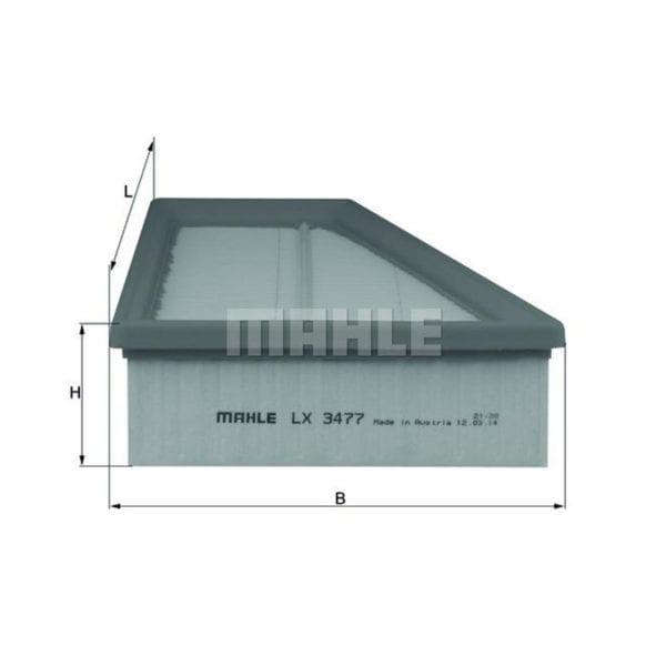מסנן (פילטר) אוויר MAHLE LX 3477