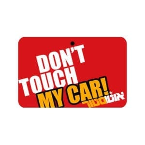 עץ ריח DON'T TOUCH MY CAR Red