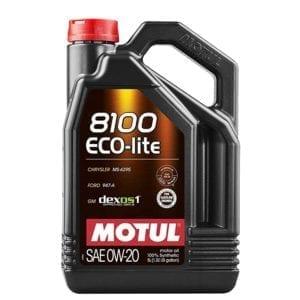 שמן Motul 8100 ECO-lite 0W20 5L