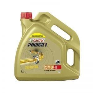 שמן Castrol 4T Power 1 15W50 4L