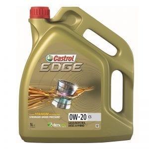 שמן Castrol EDGE 0W20 C5 5L